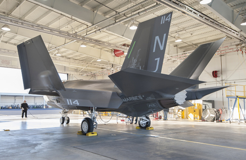 Document F-35/ CF-19 Marines Markings-These photos are approved