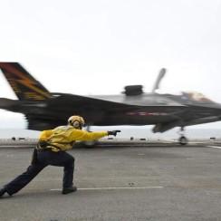 F-35B ship start