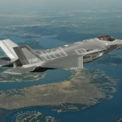 Het eerste Nederlandse F-35-testtoestel, de AN-1