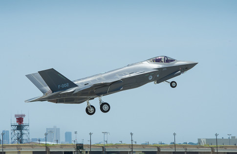 First Flight of F-35 AN-2