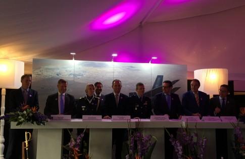 LOI Logistiek F35 naar Nederland