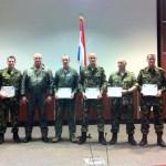 Nederlands personeel gediplomeerd