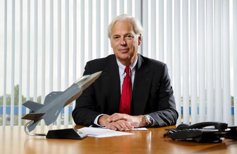 Dhr. Vollebregt, CEO Fokker